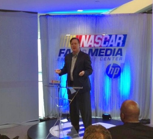 France has been a major proponent of social media engagement for NASCAR