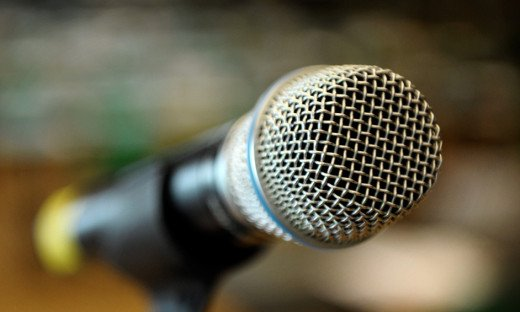 A microphone can be used for data entry into the computer