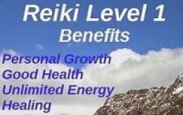 Benefits of Reiki Level 1