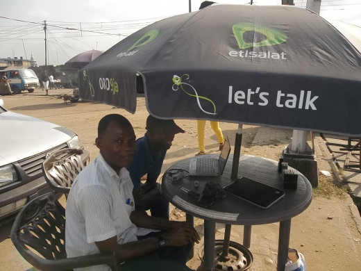 A Roadside/Street ISP Vendor