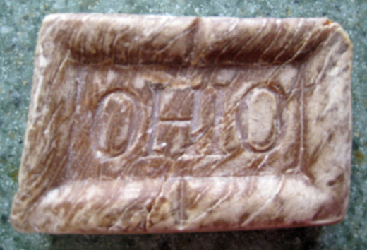 A cake of soap issued to an ohio unit