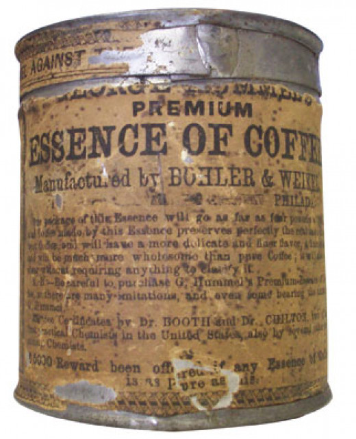 Canned ground coffee