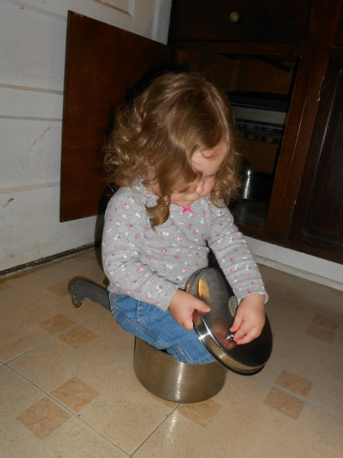 My children are my heart, and as you can see, my daughter loves to help cook