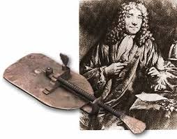 Antonie van Leeuwenhoek with his Microscope