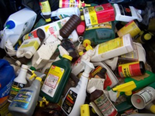 Recycling household cleaners