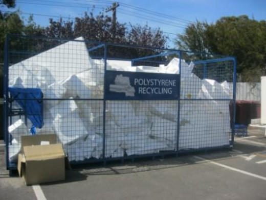 Recycling polystyrene