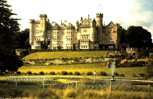 Andrew Carnegie's Skibo Castle located in Scotland