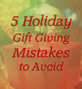 5 Christmas Gift Giving Mistakes to Avoid and Their Alternatives