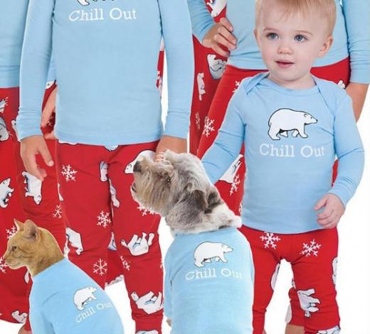 Family Christmas Pajamas Affordable - Christmas Decor And Lights
