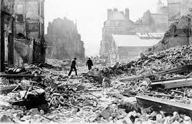 Rotterdam was totally bombed at the start of WWII. Holland was totally overrun by the Nazi's in less than 5 days.
