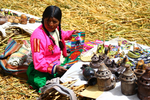 Fair Trade involves products much like what this Peruvian woman is displaying