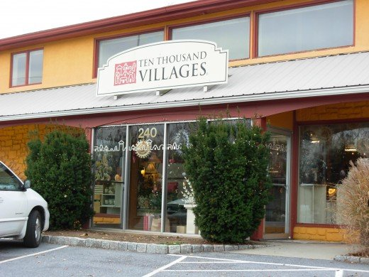 One of over 70 Ten Thousand Villages Fair Trade Stores in the U.S. and Canada.