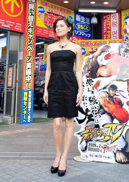 Kristin Kreuk in Japan Street Fighter Promo