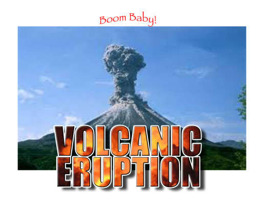 Volcanic eruptions are a clear sign that our planet is undergoing extreme tectonic plate movement.