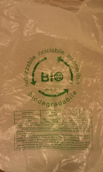 Biodegrade plastic bags