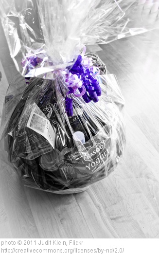 Gift baskets give you so many options.  They make it easy to personalize your gifts.