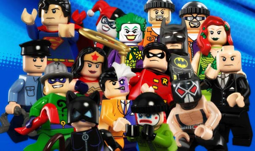 DC LEGO Super Hero Minifigures