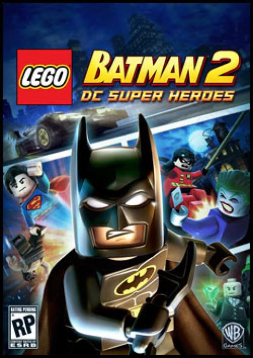 LEGO Batman 2 DC Super Heroes Video Game Box Art