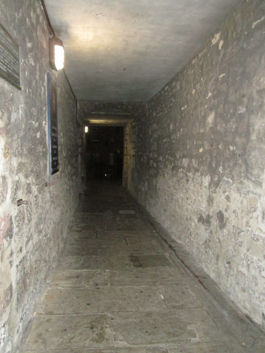Edinburgh has many dark corners and spooky tales of  past centuries.
