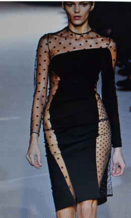 Dress by Stella McCartney who launched her fashion house in partnership with Kering, she showed her first collection in Paris in 2001 and designed kit for team GB for the London olympic. The British designer was presented with the OBE