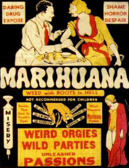 This is an example of when people had the sense to realize how terrible Marijuana truly is. I'd like to live in a world where this is commonly accepted, not idiotically contested by every stoner with a laptop.