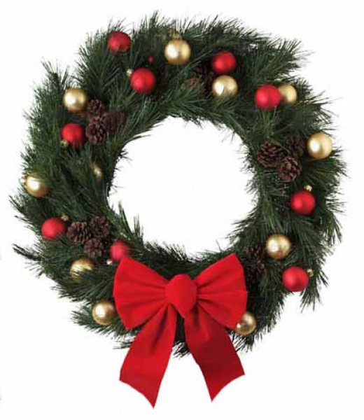 Another variety of a wreath.