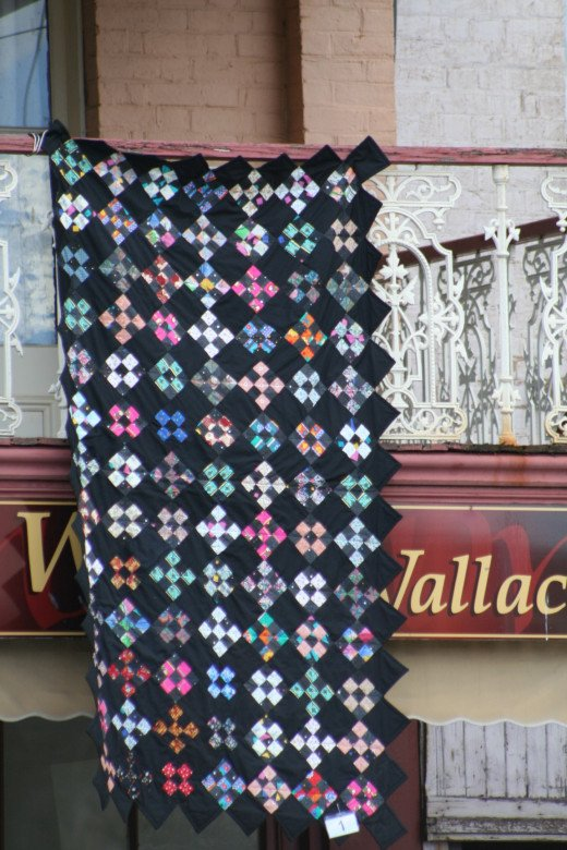 Quilts vary in style, colour and complexity.
