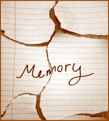 Memories and ideas fade and get lost; write it down
