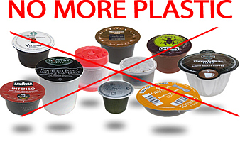 No Plastic options now available for K Cup Coffee