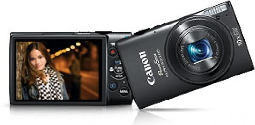 Canon PowerShot ELPH 330 12MP Digital Camera with 10x Optical Image Stabilized Zoom with 3-Inch LCD