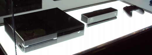 The Xbox One on display at Gamescom 2013