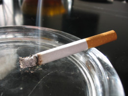 Cigarette smoking is a stronghold and difficult to break.