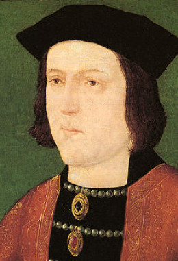 The death of Edward IV led to Elizabeth of York fleeing to sanctuary again.