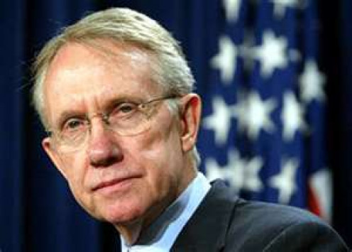 "SENATOR MAJORITY LEADER HARRY REID (D-NV) WAS FIRST TO EXPLODE THE ""NUCLEAR BOMB"""