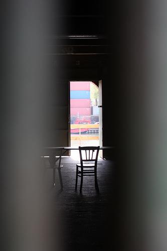 through the open door from Martin Fisch flickr.com