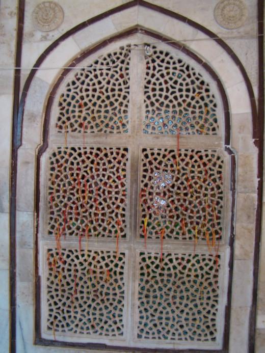 Jali work of Salim Chisti's mausoleum, Fatehpur Sikri 5