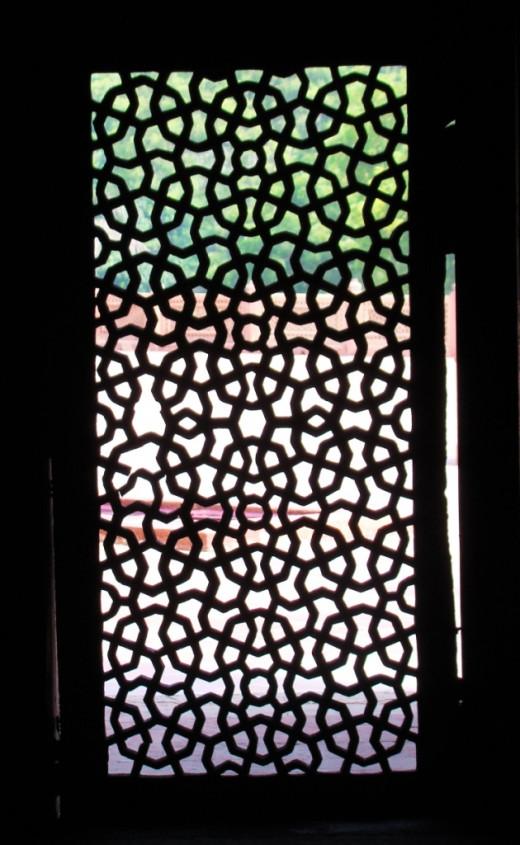 Jali work of Humayun's tomb, Delhi 2