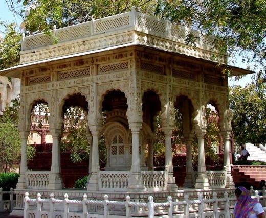Jali work of Jaswant Thada; Jodhpur, Rajsthan