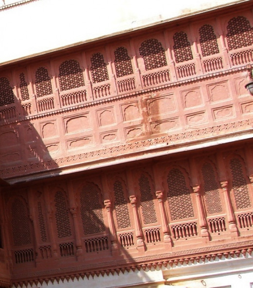 ali work of Junagad fort, Bikaner, Rajsthan 2