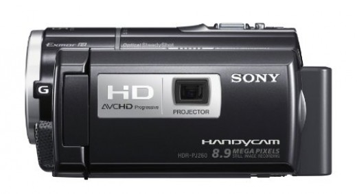 Sony HDRPJ260V High Definition Handycam 8.9 MP Camcorder with 30x Optical Zoom