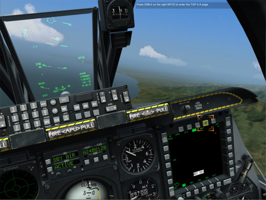 The tutorials in DCS: A-10c Warthog pack a lot of information into a concise interactive session.