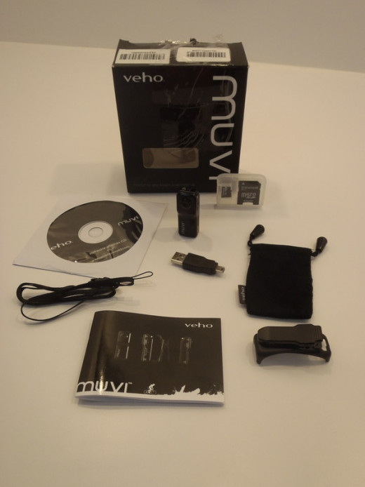 Veho VCC-003-MUVI-BLK MUVI Micro digital camcorder for Action Sports/Surveillance