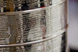 The Stanley Cup trophy is engraved with members of every winning organization.