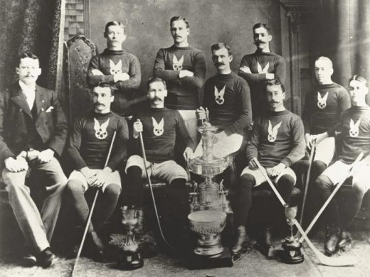 The first ever Stanley Cup Winners - The Montreal Hockey Club