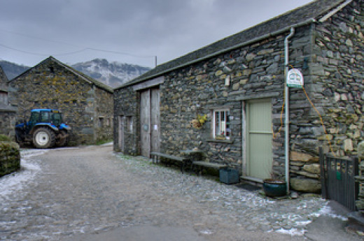 Yew Tree Farm with'Flock-in' tearooms provides economically priced B&B accommodation