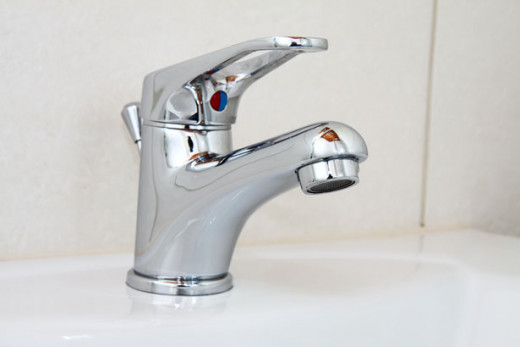 A picture of a non-leaking faucet. There is hope for your bladder.