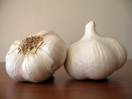 Garlic can be used to repel mosquitoes.