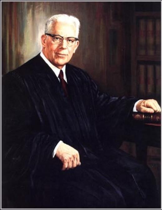 Supreme Court Chief Justice (1953-1969) Earl Warren