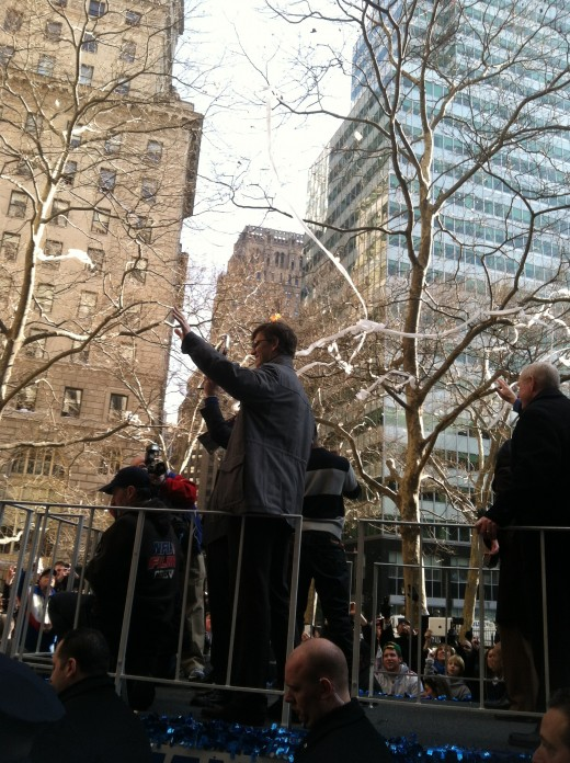 NY Giants parade 2012