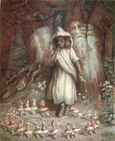 The Elf Ring, illustrated by Kate Greenaway